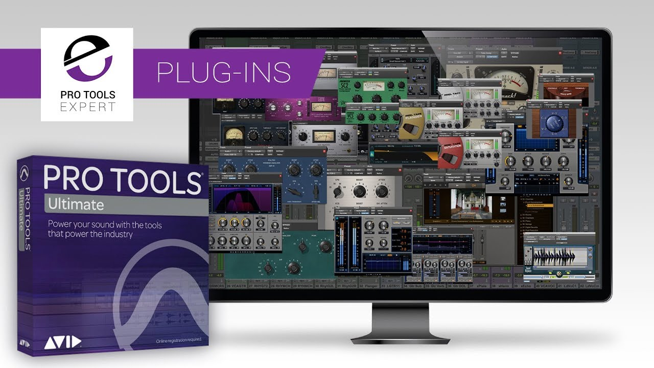 Avid Pro Tools 2018 4 - The Complete Plug-ins Bundle  Our Favourites  Plug-ins