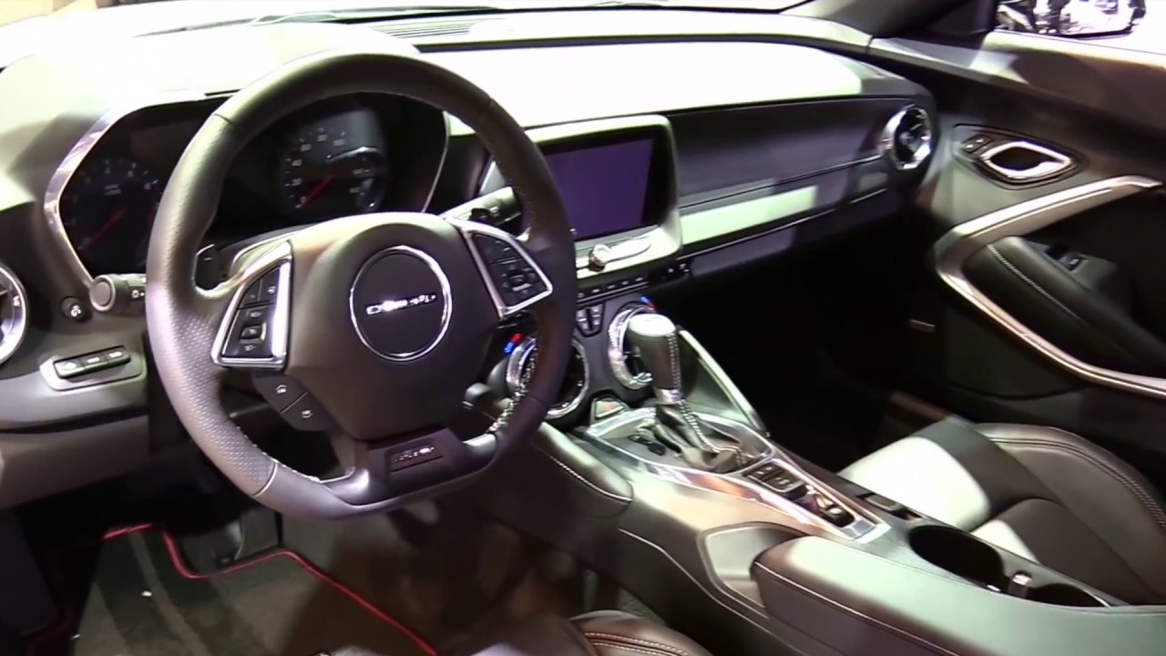 2017 Chevrolet Camaro Redline Special Luxury Features Exterior And Interior First Impression Hd