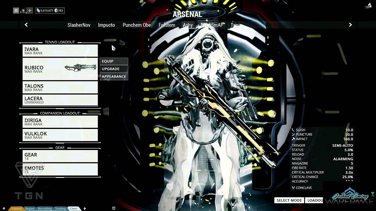 Warframe best weapons 2015 - Warframe Best Weapons 2015 31