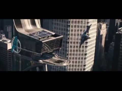 Arrival at Avengers Tower