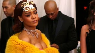 Rihanna wows on Met Gala red carpet