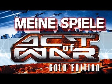 ACT OF WAR DIRECT ACTION - MEINE PC SPIELESAMMLUNG [RETAIL] - #003 [German/Sächsisch]