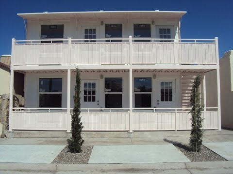 Shipping Container Apartments 4507 Rosa El Paso Texas