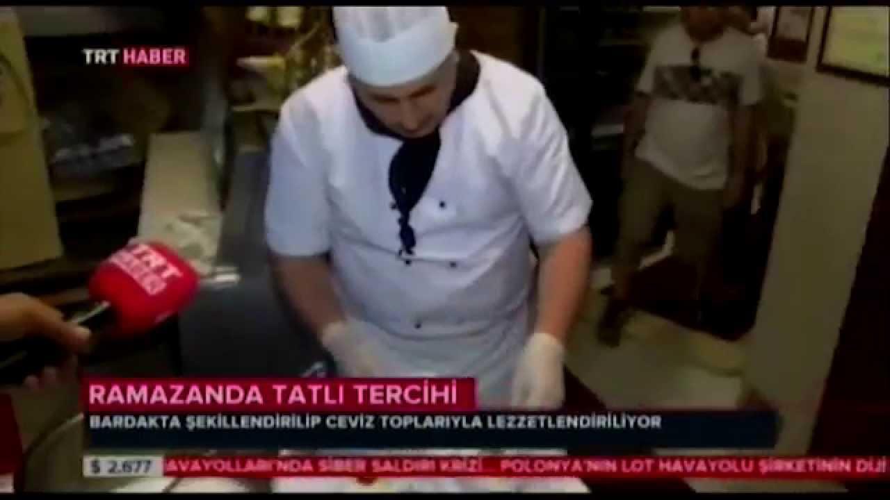 Yanyalı Fehmi Lokantası - Güllaç Tarifi - YouTube