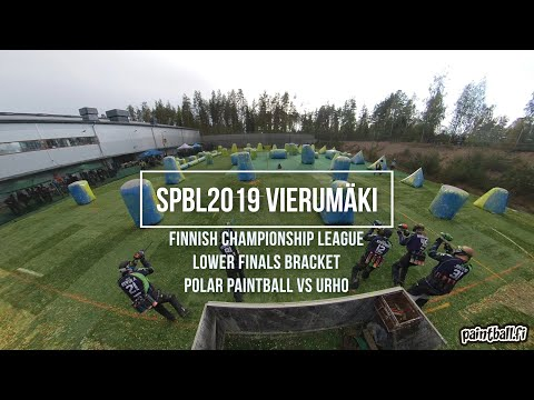 Polar Paintball vs Urho - SPBL2019 Vierumäki