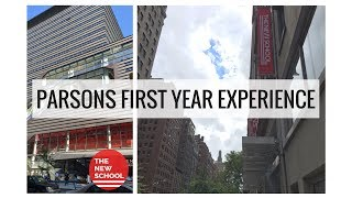 PARSONS THE NEW SCHOOL FIRST YEAR EXPERIENCE! | Rhianon Paige