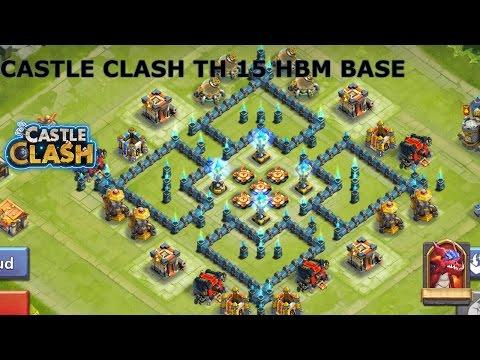 CASTLE CLASH TH 15 HBM BASE
