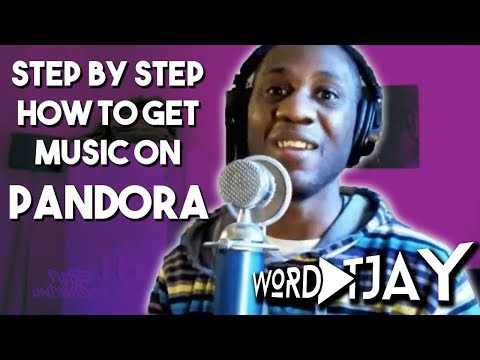 How To Get Your Music On Pandora And How To Get A Pandora Station (Step By Step Tutorial)