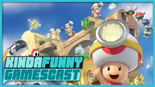 Octopath Traveler and Captain Toad Review Impressions - Kinda Funny Gamescast Ep. 178