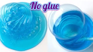 WATER SLIME 💦 HOW TO MAKE THE BEST CLEAR SLIME WITHOUT GLUE, WITHOUT BORAX! WATER SLIME RECIPES!!