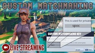 🔴 Custom Matchmaking | NA East | Code: spoc [Fortnite]