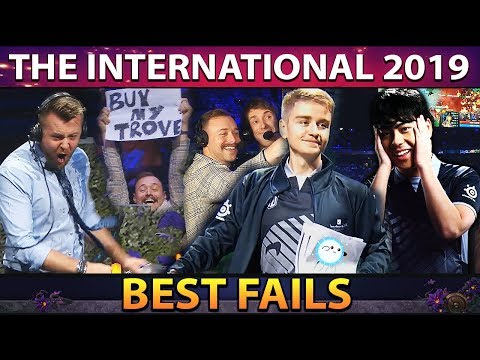 BEST FAILS & FUNNIEST MOMENTS of TI9 - The International 2019 Dota 2
