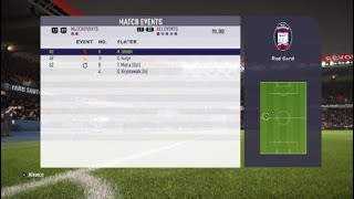 Paris France VS Italy Crotone FIFA18