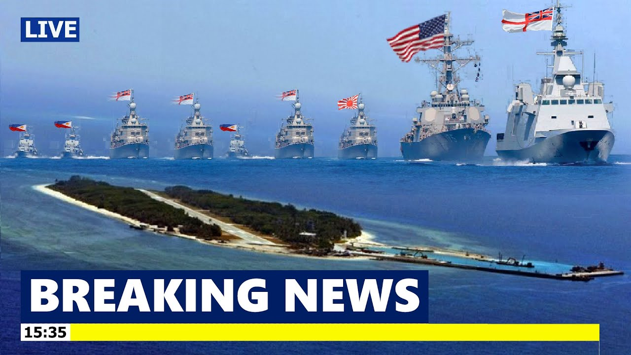 China Panic: The US and the Philippines take over the South China Sea after Japan and UK join