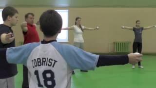 Упражнения с  бейсбольными мячами