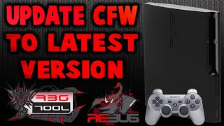 CFW PS3 UPDATE Rebug To 4.84.1 REX/D-REX & ToolBox!