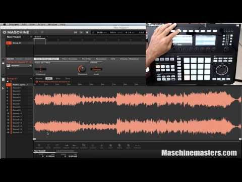 How to Sample MP3 in Maschine Studio 2.0 and New Workflow