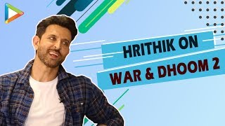 EXCITING: Hrithik Roshan draws parallels between WAR and DHOOM2