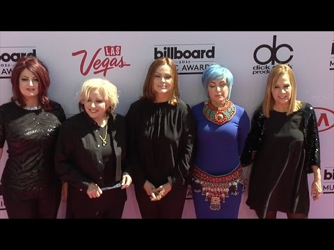 The Go-Go's 2016 Billboard Music Awards Pink Carpet