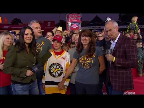 Rogers Hometown Hockey: Ovechkin Surprises Young Fan, Alex Luey