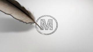 قالب رسم شعار بالقلم للافتر افكت CC فأعلى