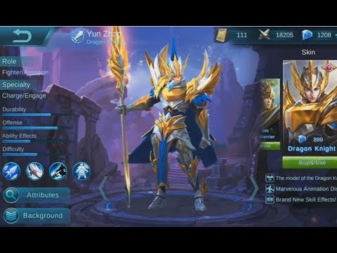 Indonesia Mobile Legends: Guide penggunaan Build And Gear Zilong
