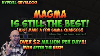 Gambar cover Magma Farm is Still Best Way to Make Money AFK! - Hypixel Skyblock