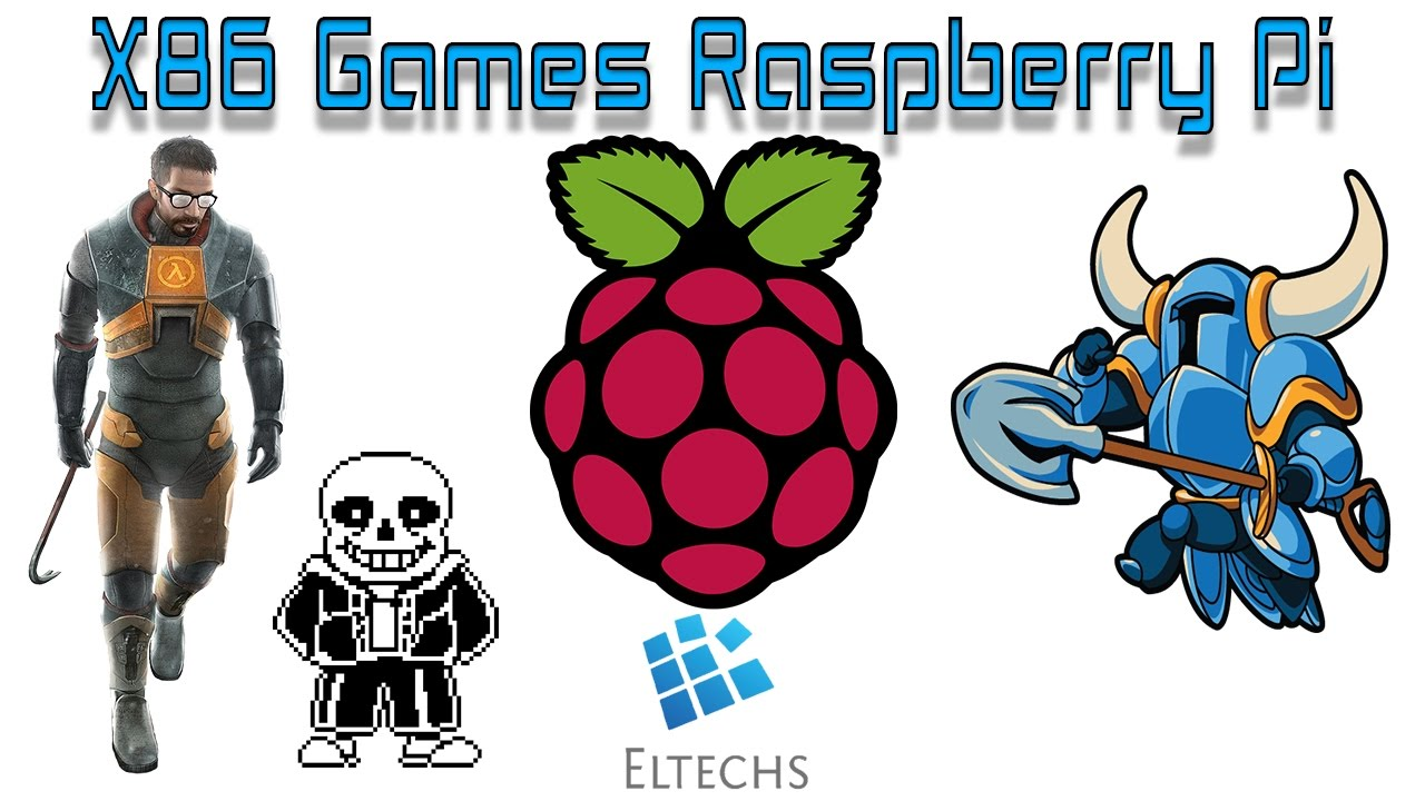 Raspberry Pi Running Shovel Knight Half Life And UnderTale ExaGear And Wine
