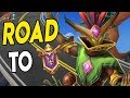 Road to GM: WE'RE ALMOST THERE | Mal'Damba Ranked Paladins Gameplay