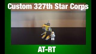 Lego Star Wars: Custom 327th Star Corps AT-RT MOC