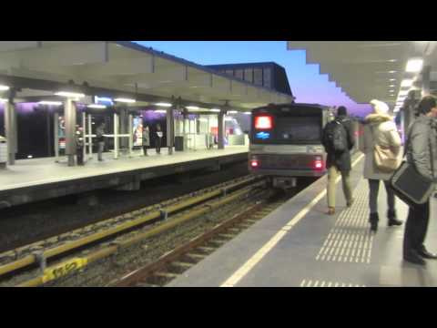 The Metro in Amsterdam - 2013