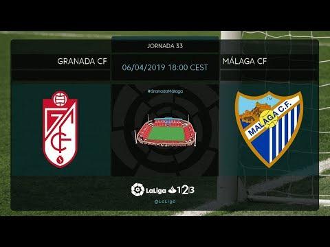 Granada CF - Málaga CF MD33 S1800