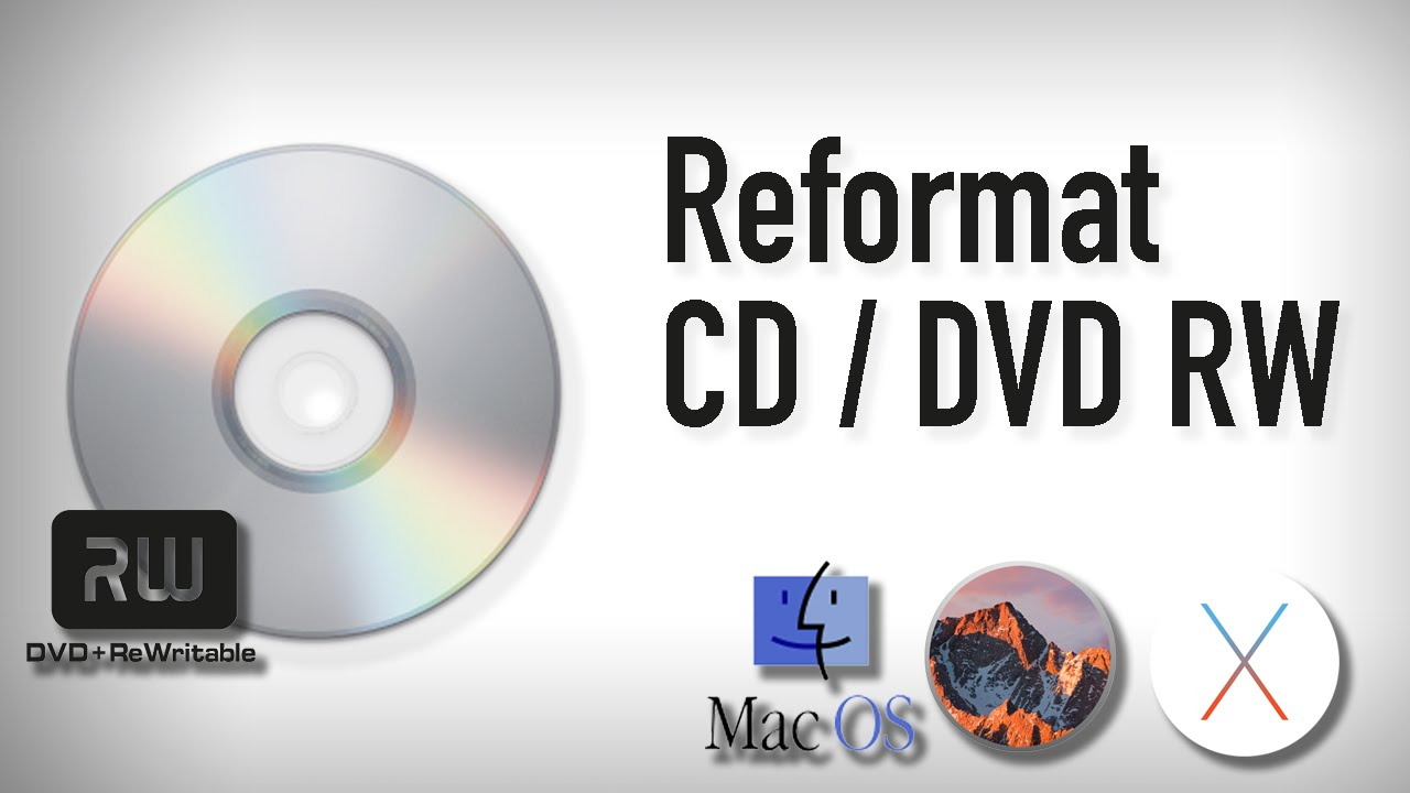 how to erase a dvd rw