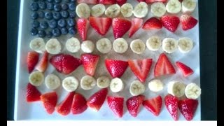 Easy and Healthy 4th of July Fruit Snacks for Kids Thumbnail