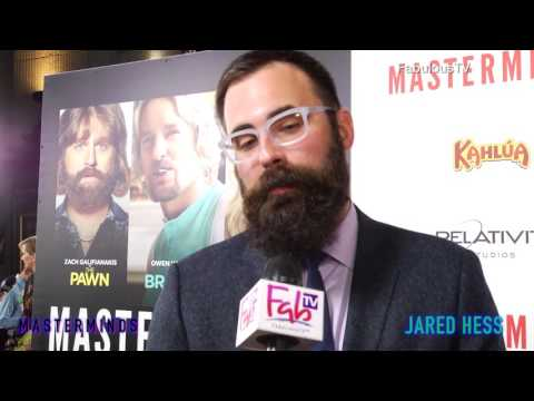 Director Jared Hess At The 'MASTERMINDS' Red Carpet On FabulousTV