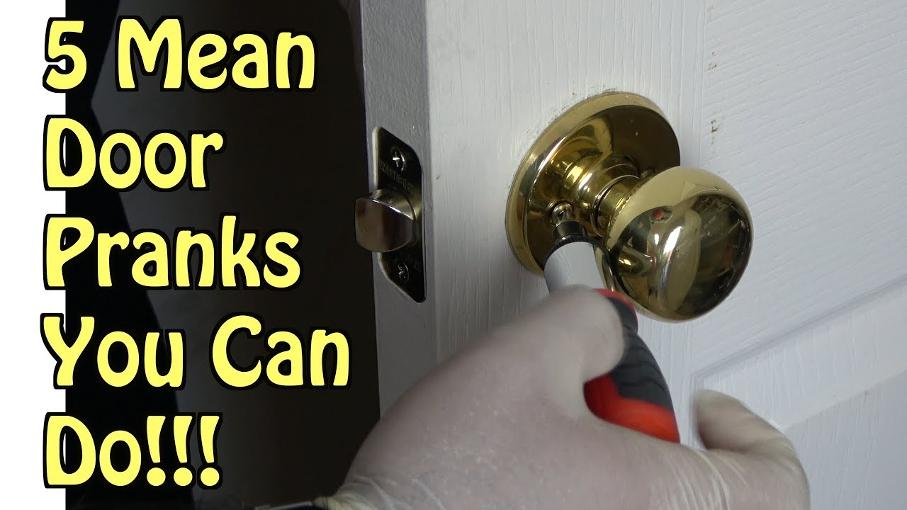 5 Funny Door Pranks You Can Pull Off At Home - HOW TO PRANK FAMILY AND FRIENDS | Nextraker & 5 Funny Door Pranks You Can Pull Off At Home - HOW TO PRANK FAMILY ...