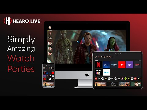 Hearo: Simply Amazing Watch Parties
