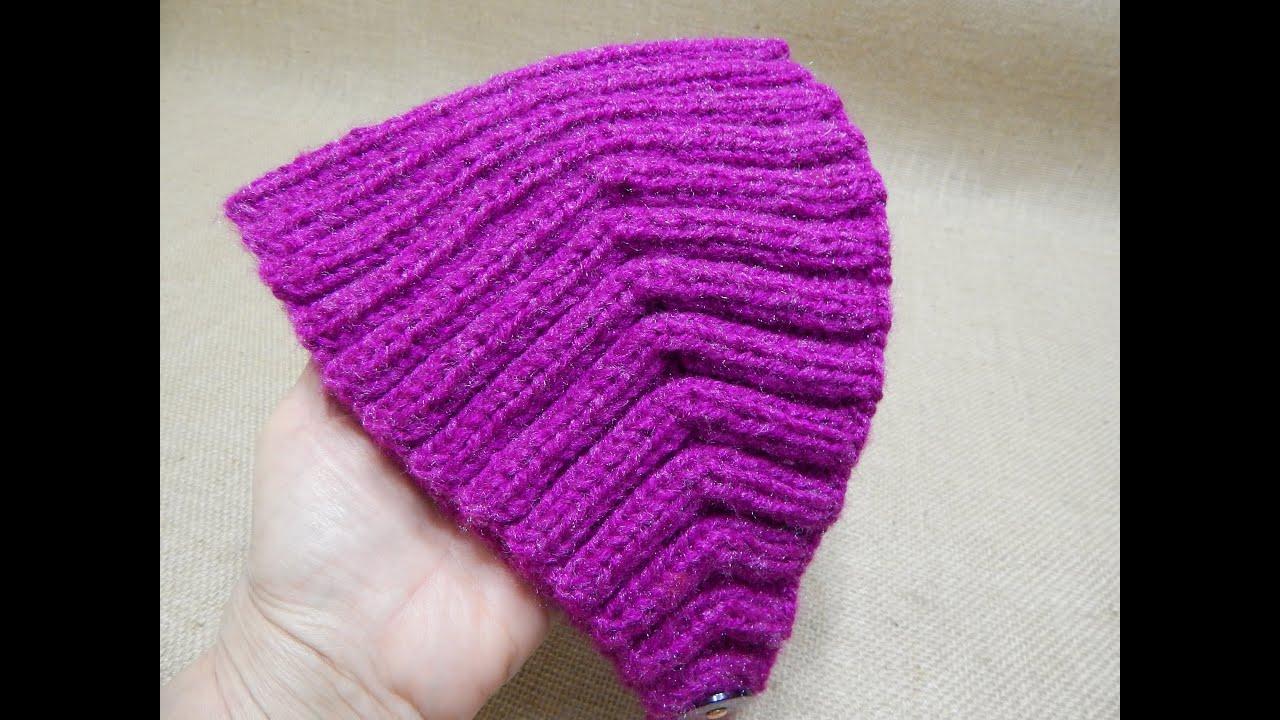 Banda elastica dos agujas youtube - Diademas a crochet ...