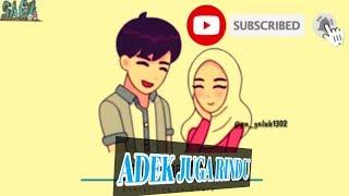 Adek Juga Rindu BALASAN ADEK BERJILBAB UNGU ANIMASI.mp3