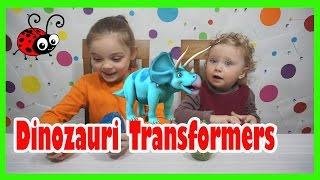 Dinozauri Transformers Oua cu Surprize Jucarii Video pentru Copii de la Melly Karamely Kids toys