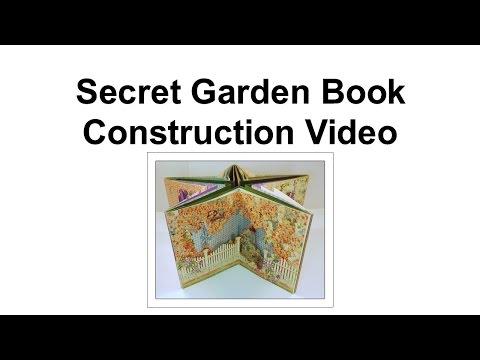Secret Garden Book Construction Part 6- Assembling the Pages