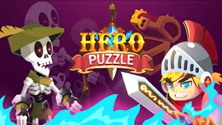 Hero Puzzle - Gameplay Walkthrough Part 1 Levels 1-25 (Android,iOS)
