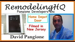 Home Depot Door Installation  - Pangione Developers Tv