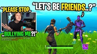 This famous streamer was TOXIC to me until we became FRIENDS after THIS... (shocking)