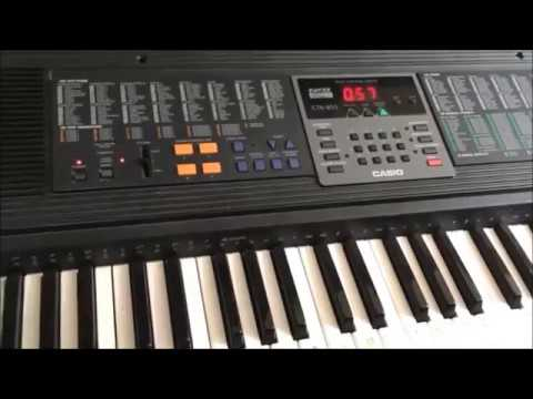 Casio CTK-650 Vintage synth with some startling tricks!