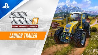 Farming Simulator 19 - Alpine Farming Expansion Launch Trailer | PS4