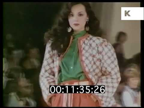 1970s Yves Saint Laurent, Designer Voxpop and Catwalk , Jerry Hall