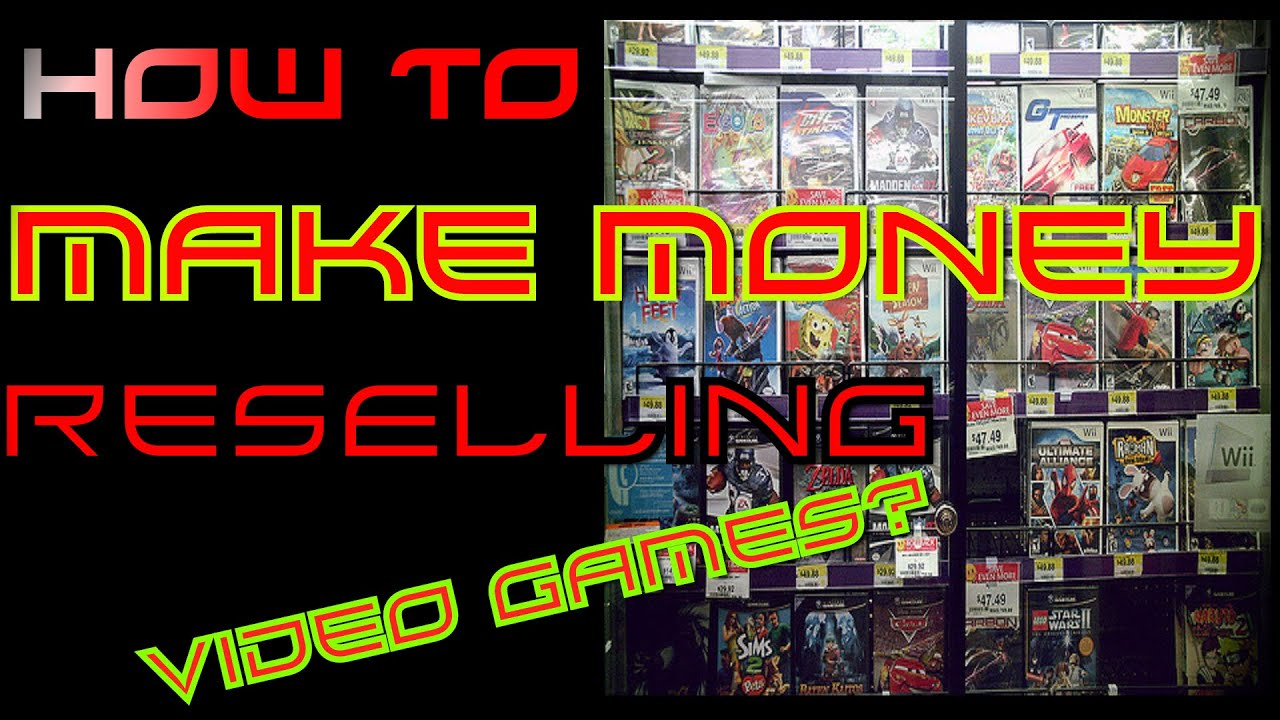 how to make real money in video games