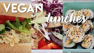 Back to School Lunch Ideas (VEGAN + GF OPTIONAL)