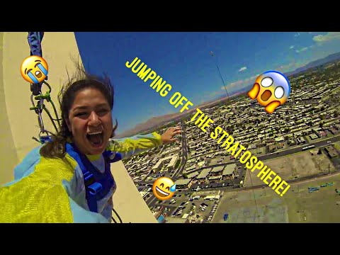 JUMPING OFF THE STRATOSPHERE IN LAS VEGAS 2017| SKY JUMP!